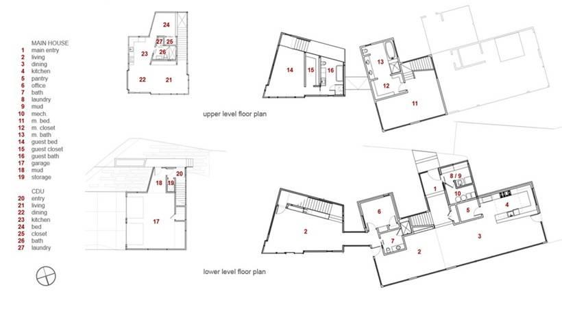 Современный ремонт загородного дома Piampiano от Studio B