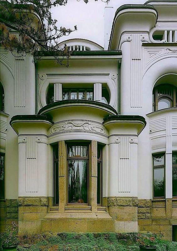 Невероятные фасады в стиле модерн